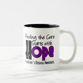 Alzheimer's Disease HOPE 4 Coffee Mugs