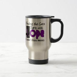 Alzheimer's Disease HOPE 4 Mugs