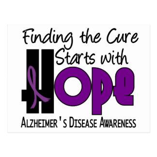 Alzheimer's Disease HOPE 4 Postcard