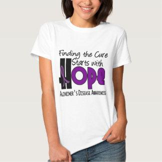 Alzheimer's Disease HOPE 4 Tees