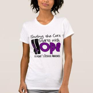 Alzheimer's Disease HOPE 4 Tshirts