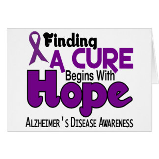 Alzheimer's Disease HOPE 5 Card