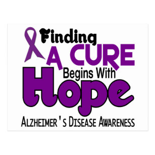 Alzheimer's Disease HOPE 5 Postcard
