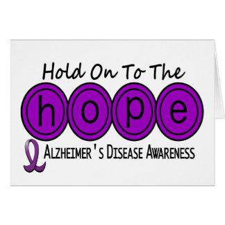 Alzheimer's Disease HOPE 6 Card