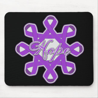 Alzheimer s Disease Hope Unity Ribbons Mousepads
