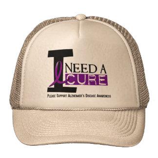 Alzheimer s Disease I NEED A CURE 1 Mesh Hat