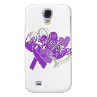 Alzheimer's Disease Love Hope Cure Galaxy S4 Cover