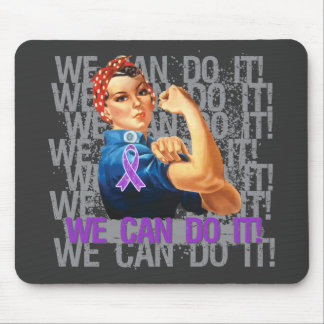 Alzheimer's Disease Rosie WE CAN DO IT Mousepads