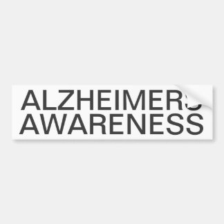 Alzheimers Awareness Bumper Sticker