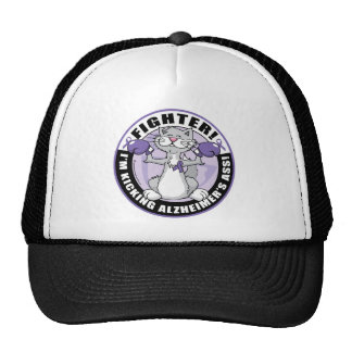 Alzheimers Cat Fighter Cap