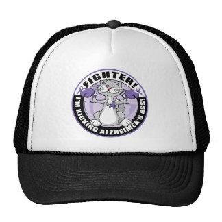 Alzheimers Cat Fighter Cap