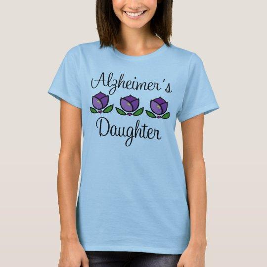 Alzheimer's Daughter Womens Tee