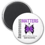 Alzheimers Disease Awareness Matters Fridge Magnet