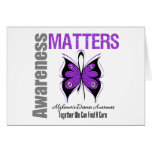 Alzheimers Disease Awareness Matters Greeting Card