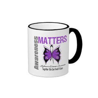 Alzheimers Disease Awareness Matters Coffee Mug