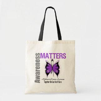 Alzheimers Disease Awareness Matters Canvas Bag