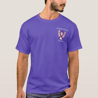 Alzheimer's Disease Awareness Ribbon Angel Shirts