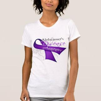 Alzheimer's Disease Awareness Ribbon T-Shirt