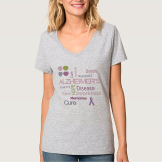 Alzheimer's Disease Awareness Tshirt