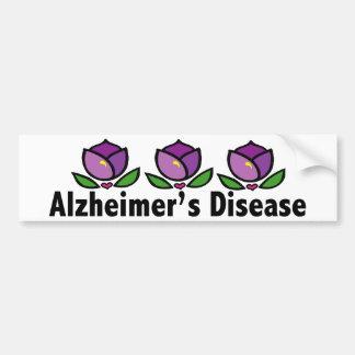Alzheimer's Disease Bumper Sticker
