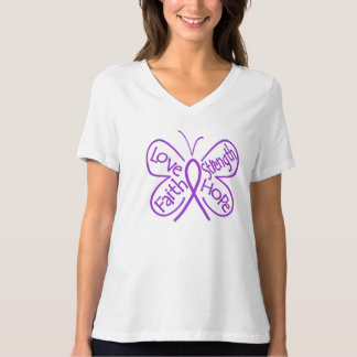 Alzheimers Disease Butterfly Inspiring Words Tshirts