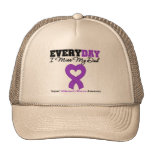 Alzheimer's Disease Every Day I Miss My Dad Mesh Hats