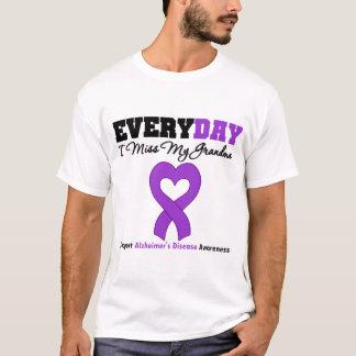 Alzheimer's Disease Every Day I Miss My Grandma T-Shirt