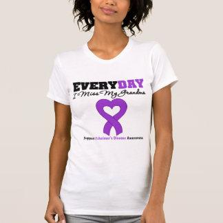 Alzheimer's Disease Every Day I Miss My Grandma T-shirts