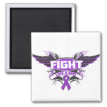 Alzheimers Disease Fight Like a Girl Wings.png Magnets