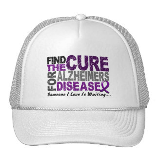 ALZHEIMERS DISEASE Find The Cure 1 Trucker Hat