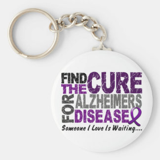 ALZHEIMERS DISEASE Find The Cure 1 Key Ring