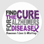 ALZHEIMERS DISEASE Find The Cure 1 Sticker