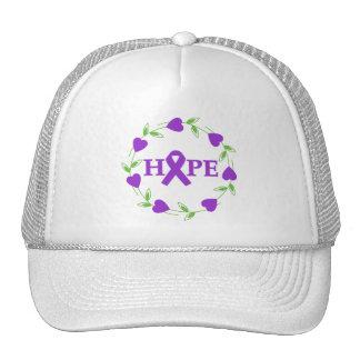 Alzheimer's Disease Hearts of Hope Mesh Hats