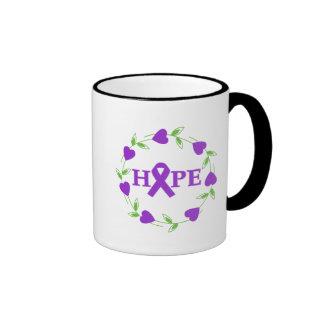 Alzheimer's Disease Hearts of Hope Coffee Mug