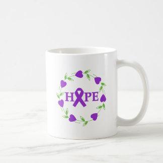Alzheimer's Disease Hearts of Hope Coffee Mugs