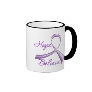 Alzheimers Disease - Hope Believe Coffee Mug