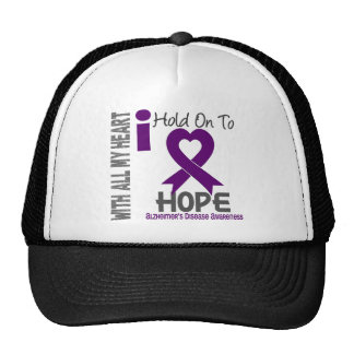 Alzheimers Disease I Hold On To Hope Cap