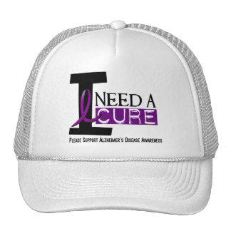Alzheimer's Disease I NEED A CURE 1 Cap