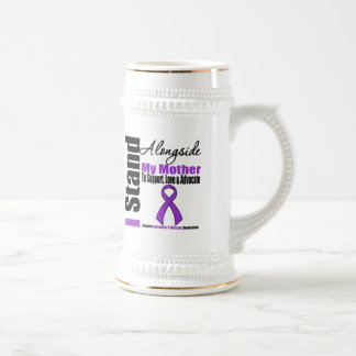 Alzheimers Disease I Stand Alongside My Mother Beer Steins