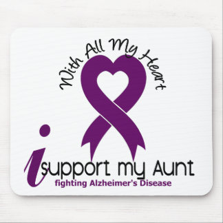 Alzheimers Disease I Support My Aunt Mouse Mat