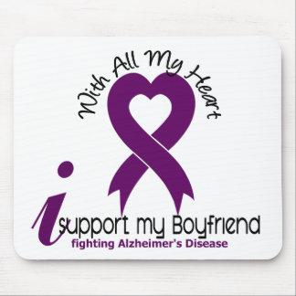 Alzheimers Disease I Support My Boyfriend Mouse Mat