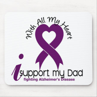 Alzheimers Disease I Support My Dad Mouse Pads