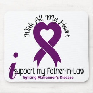 Alzheimers Disease I Support My Father-In-Law Mouse Pad