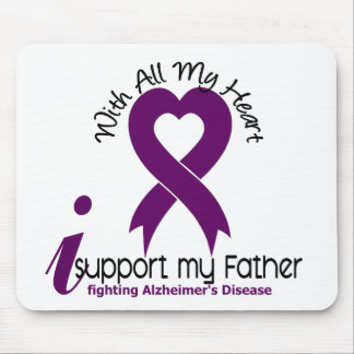 Alzheimers Disease I Support My Father Mouse Mats