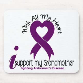 Alzheimers Disease I Support My Grandmother Mouse Pads