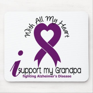 Alzheimers Disease I Support My Grandpa Mouse Pad
