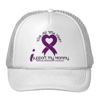 Alzheimers Disease I Support My Mommy Mesh Hat