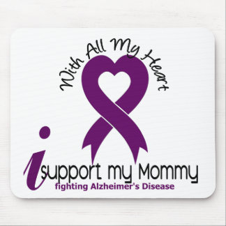 Alzheimers Disease I Support My Mommy Mouse Mat