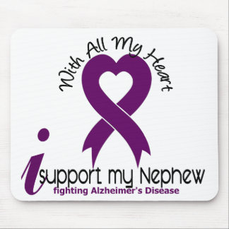 Alzheimers Disease I Support My Nephew Mouse Mats