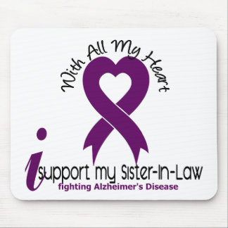 Alzheimers Disease I Support My Sister-In-Law Mouse Mats